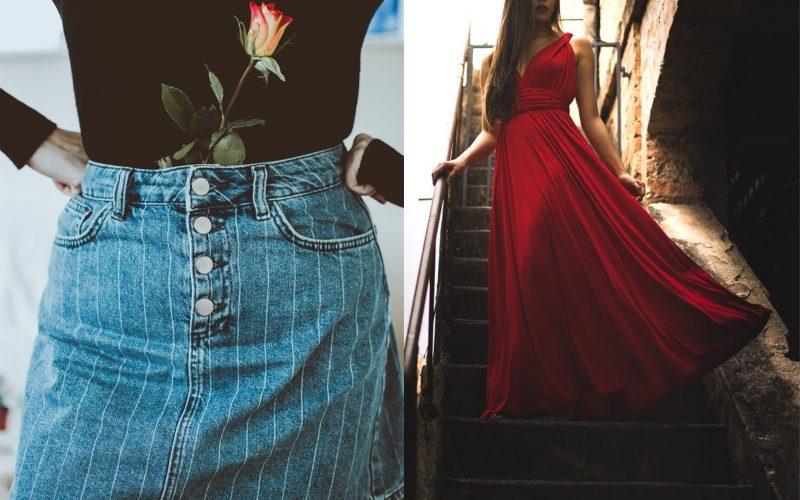 Jaka jest różnica między spódnicą i sukienką