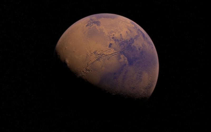 Jaka temperatura jest na Marsie?